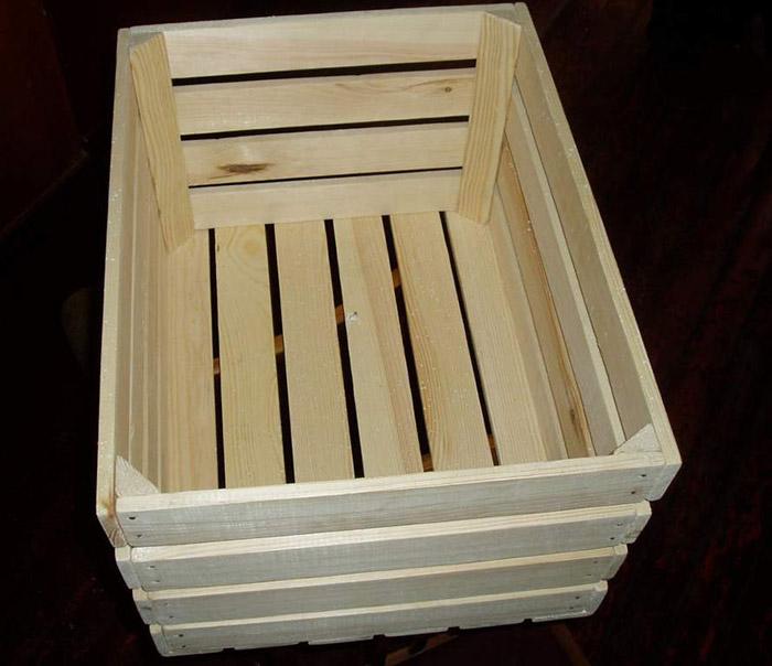 Деревянные ящики для яблок своими руками