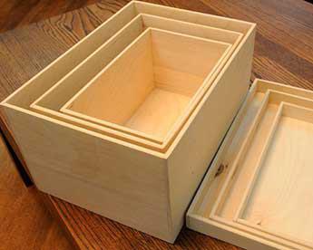 Сделать ящик своими руками из фанеры